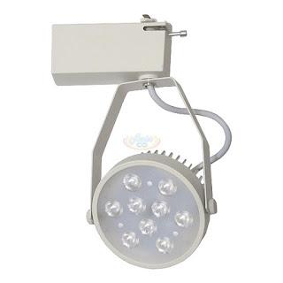 12W LED軌道投射燈,LED軌道燈(白)