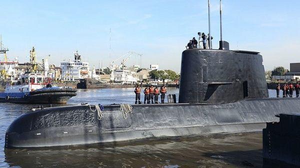 Detectan posibles señales del submarino argentino desaparecido