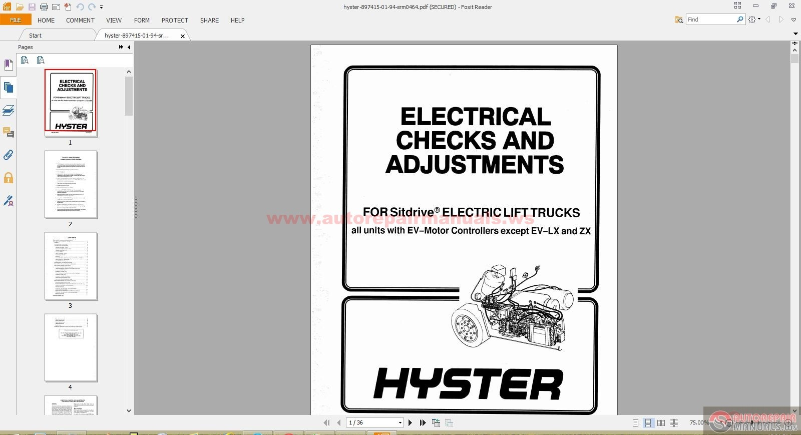 hyster 60 forklift wiring diagram 94 ford ranger fuse box free auto repair manual parts and