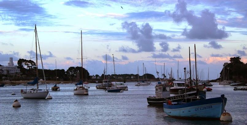 Urokliwy port Sainte Marine / Le charmant port de Sainte Marine