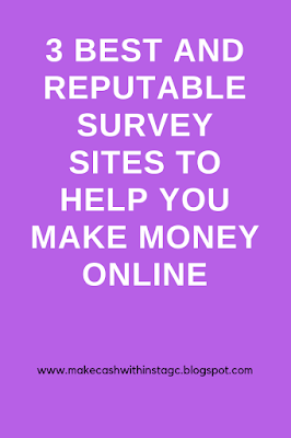 3 Best survey sites to help you make money online