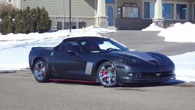 2010 Corvette Grand Sport Convertible at Purifoy Chevrolet