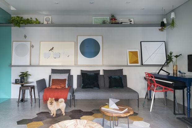 Apartamento pequeño en Sao Paulo