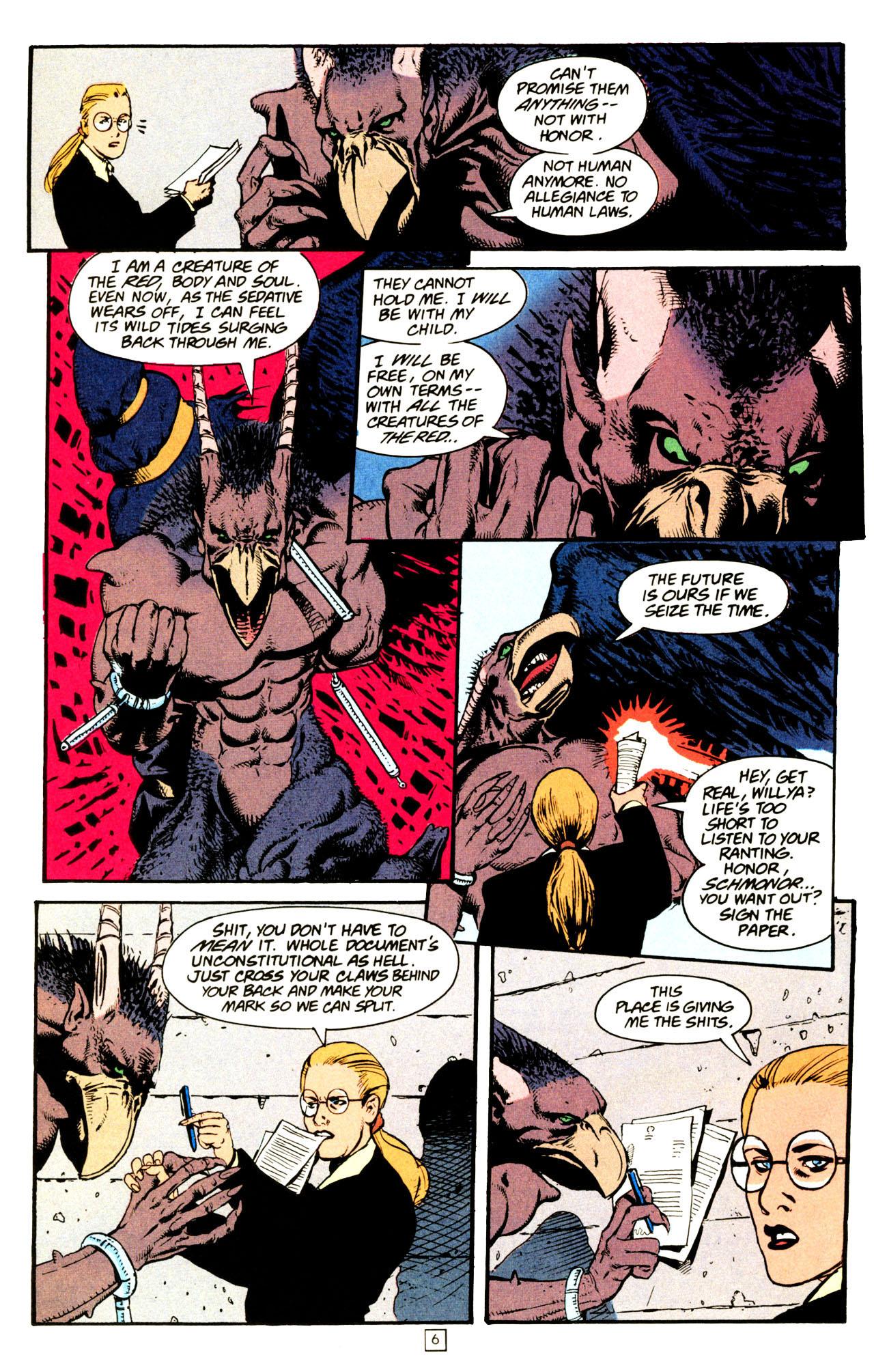 Read online Animal Man (1988) comic -  Issue #72 - 7