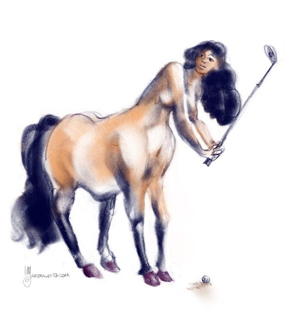 Centaur by Artmagenta