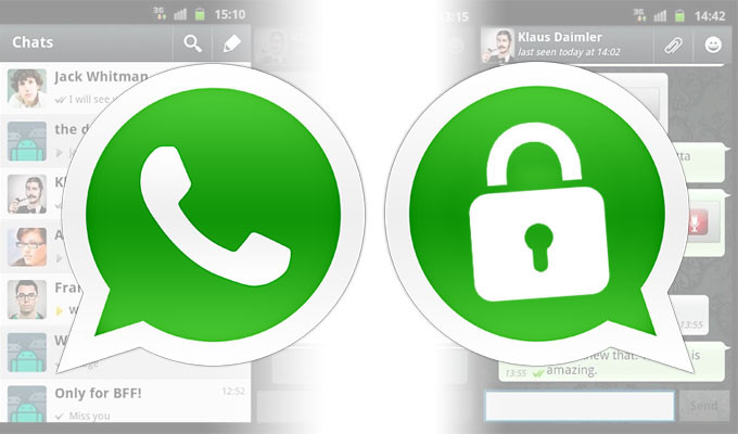 WhatsApp Introduces Encrypted Messages.