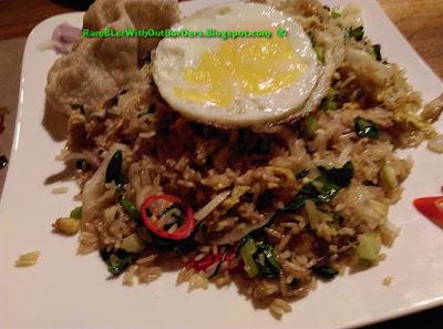 Nasi goreng, Naughty Nuri's Restaurant, Life Centre, KL, Malaysia