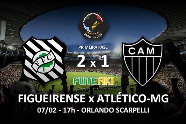 Veja o resumo da partida com os gols e os melhores momentos de Figueirense 2x1 Atlético-MG pela 2ª rodada da Copa Sul-Minas-Rio 2016.