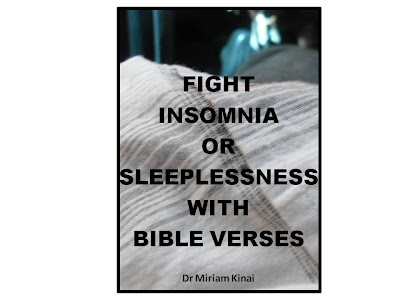 How to fight insomnia or sleeplessness with Bible verses