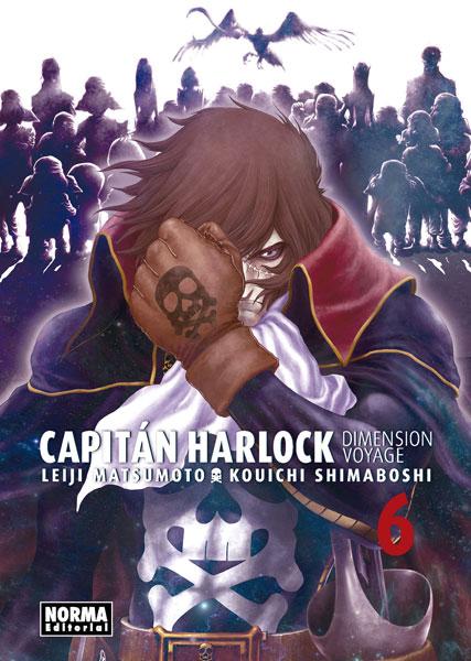 """Reseña de """"Capitán Harlock: Dimension Voyage"""" vol.6 de Leiji Matsumoto y Kouichi Shimaboshi - Norma Editorial"""