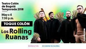 ROLLING RUANAS en un especial concierto de lanzamiento
