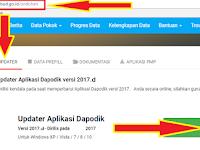 Penting !! Info Awal Aplikasi Dapodik 2017.d Tahun Pelajaran 2017/2018