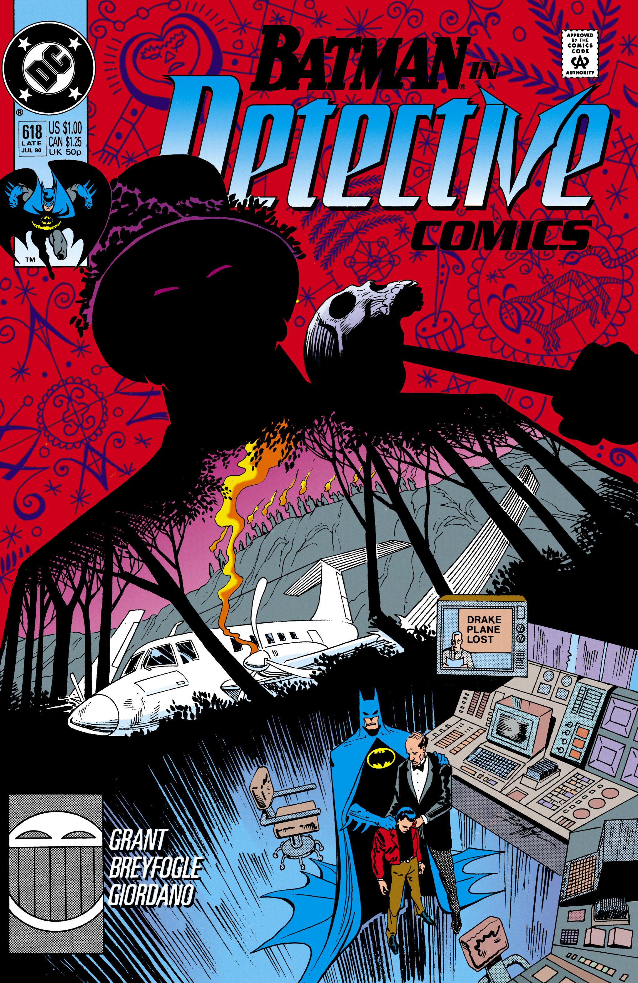 Detective Comics (1937) 618 Page 0