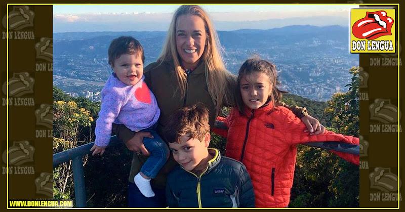Lilian Tintori le desea un Feliz 2019 a Venezuela con este mensaje