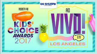 Promoção Kids' Choice Awards 2017
