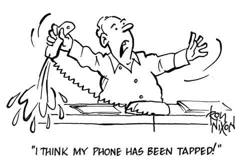 On the Alleged Phone tapping: Some Facts at Last