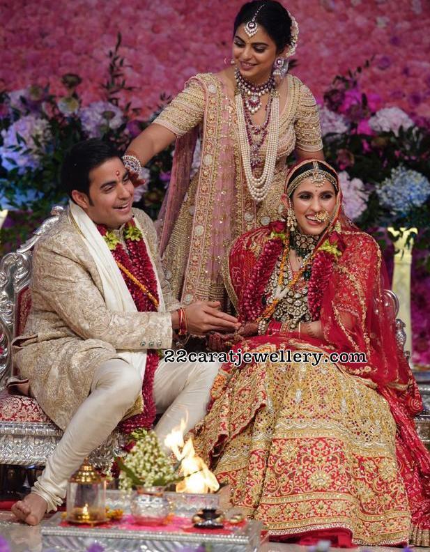 Shloka Mehta Wedding Jewellery