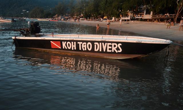 koh tao divers boat