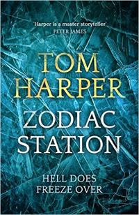 Portada de Zodiac Station, de Tom Harper