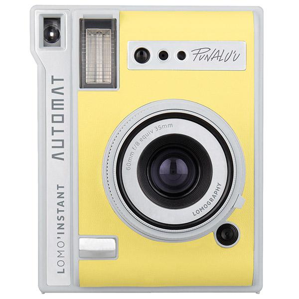 Lomo'Instant Automat желтого цвета