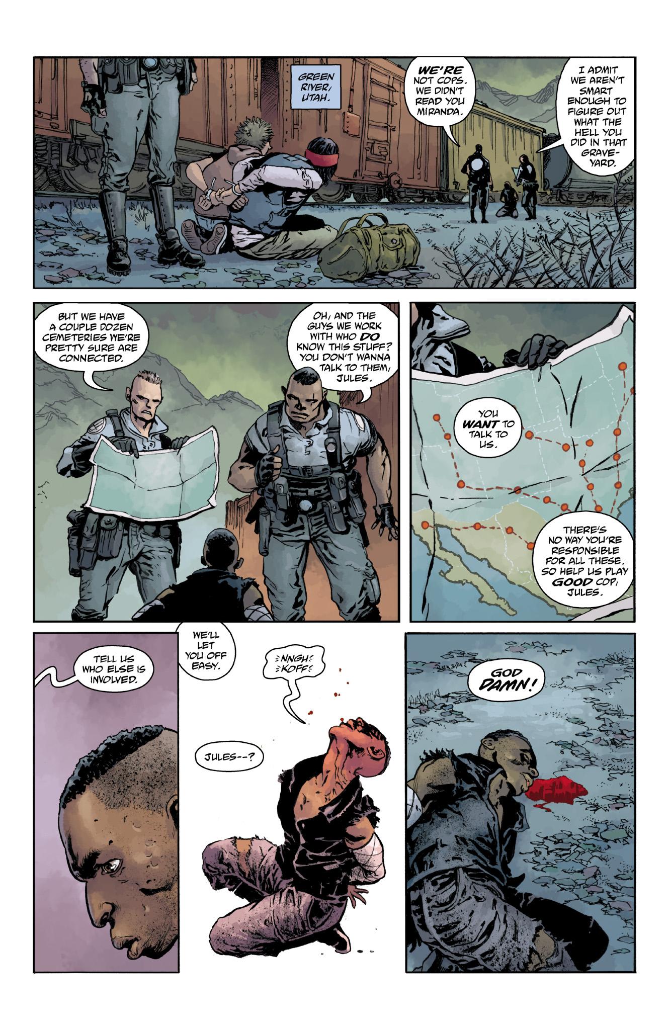 Read online Abe Sapien comic -  Issue #18 - 23