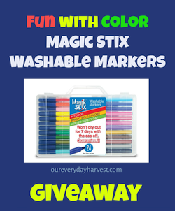 Magic Stix Markers Giveaway