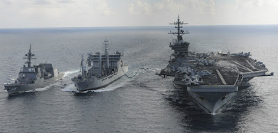 India, U.S and Japan flex their Naval Muscles in the Pacific
