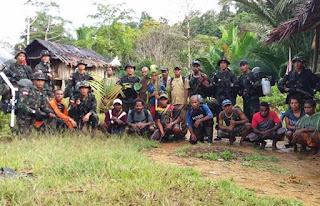 Tak Terdeteksi di Peta, Prajurit TNI Berhasil Temukan Kampung Digi yang berlokasi di Perbatasan RI-PNG - Commando