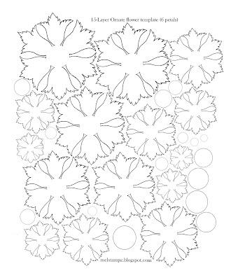 Mel Stampz: 100+ Hot Crafty Flowers templates & tutorials