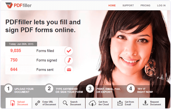 pdffiller.com How To Edit Text In PDF File Online Free
