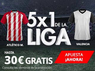 suertia promocion Atlético vs Valencia 4 febrero