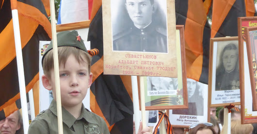 Victory Day in Russia (9th May 2016)