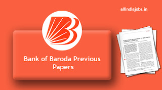 Bank of Baroda Senior Relationship Manager Previous Papers