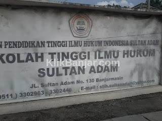 profil alamat sekolah tinggi ilmu hukum stih sultan adam banjarmasin