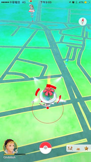 3 - 鬼月不要玩命│千萬不要前往台中PokémonGO路邊圍籬河南路道館,小心罰單伴隨你