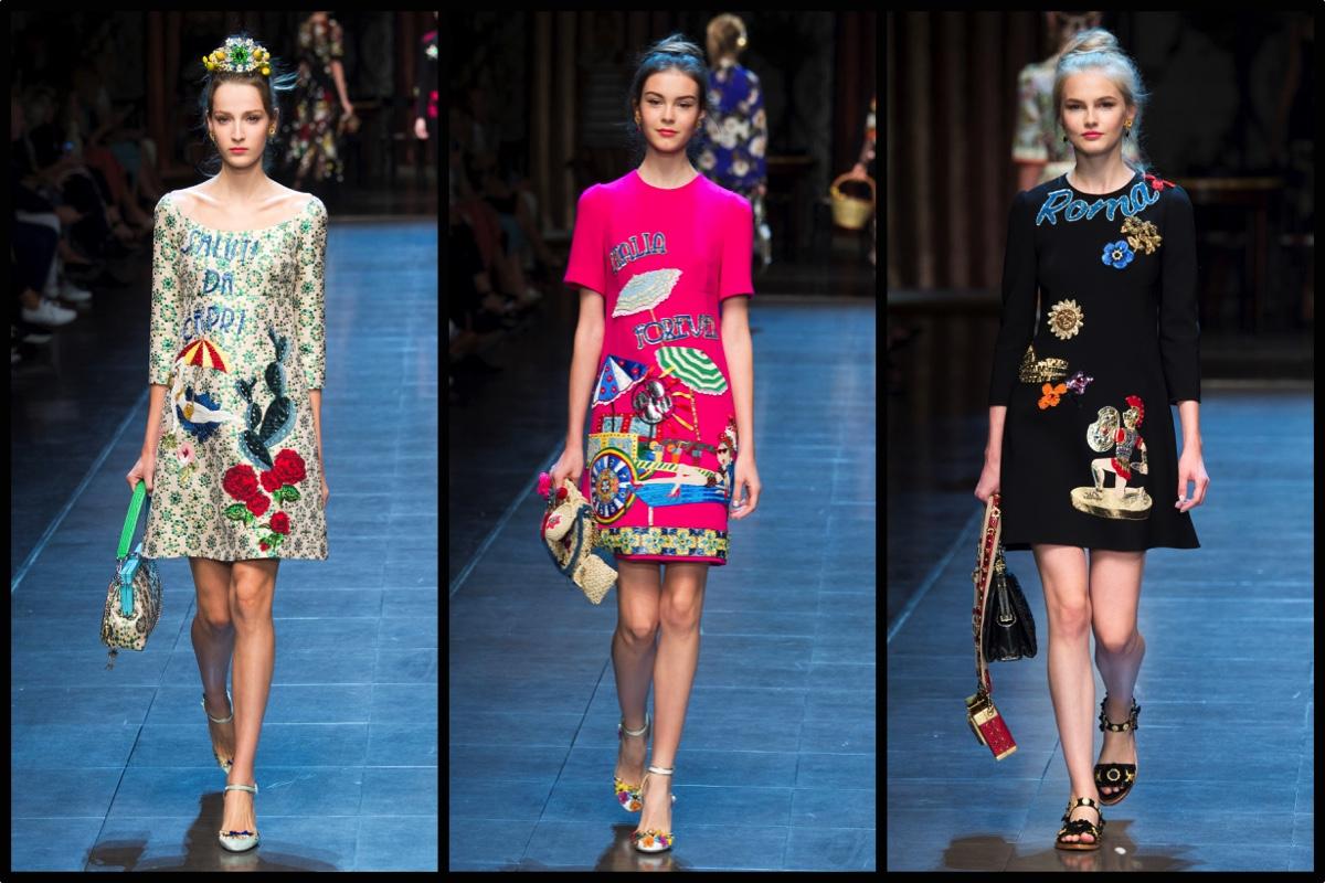 Dolce   Gabbana Primavera Estate 2016  viva l Italia (e i selfie ... bef8b5a2834