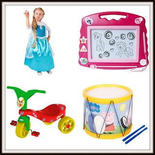 Brinquedos para crianças de 2 anos