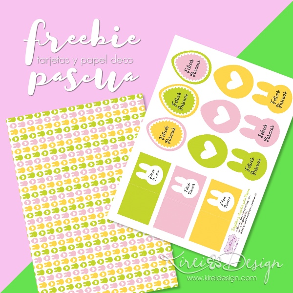 Freebie pascua kireidesign