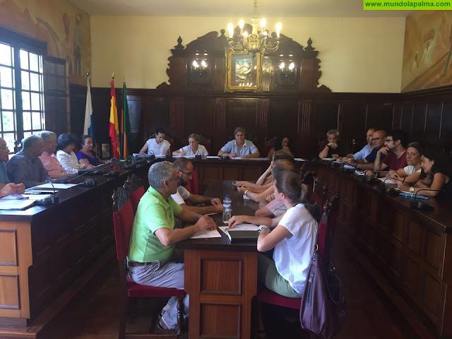 La Mesa Local por el Empleo de Los Llanos solicita al Cabildo un transporte público más sensible con los desempleados