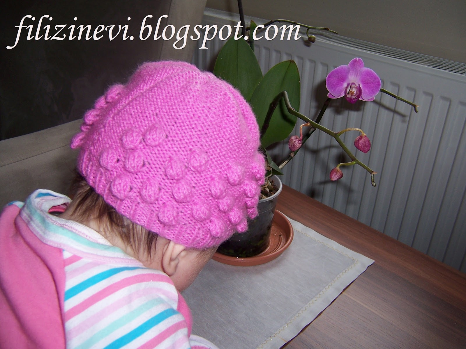 Bir Yaş Bebek Şapkası Kaç İlmekten Başlanır