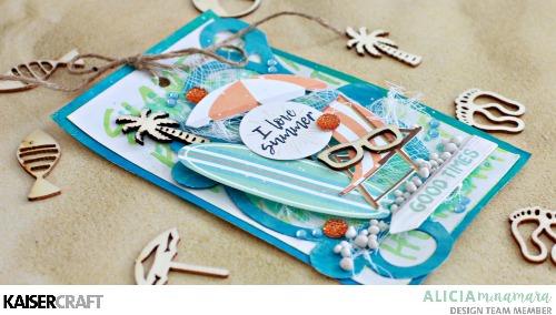 Kaisercraft Summer Splash Tags by Alicia McNamara