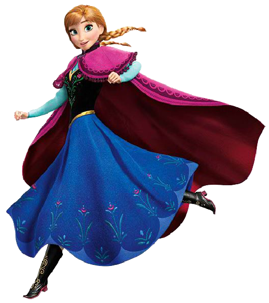 Frozen: Ana Clip Art. | Oh My Fiesta! in english