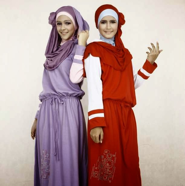 Contoh model baju muslim remaja gaul saat ini