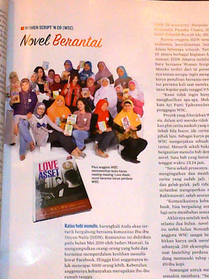 Buku Pertamaku Novel Berantai Love Asset