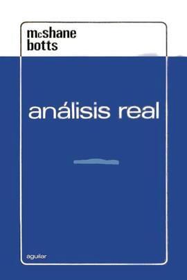 Análisis real – Edward J. McShane