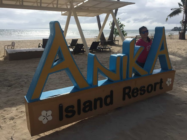 Anika Island Resort signage