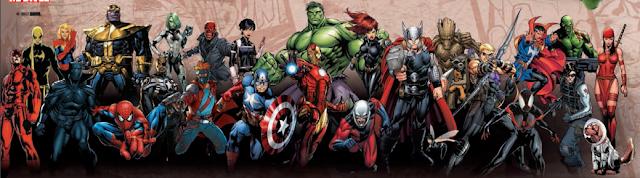 Bustos de Marvel