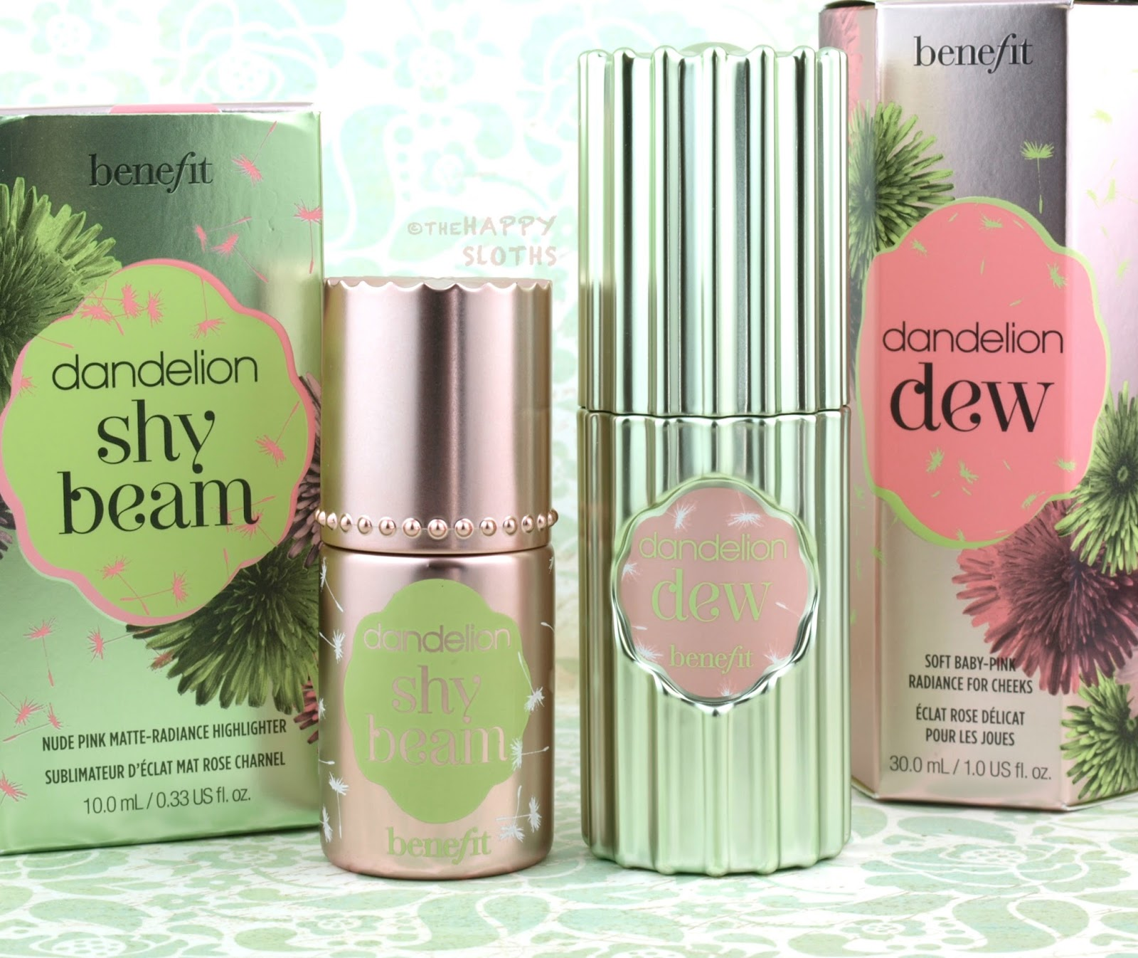 Benefit Dandelion Dew Amp Shy Beam Review And Swatches
