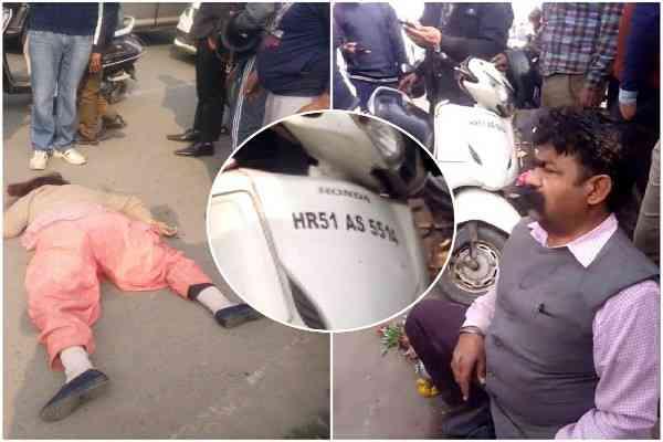 bata-pul-faridabad-accident-women-deak-nit-2-faridabad-news