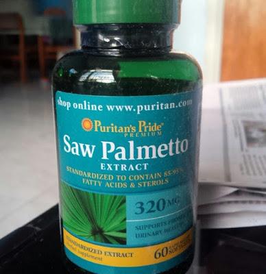 Harga Saw Palmetto Obat Pembengkakan Prostat Terbaru 2017
